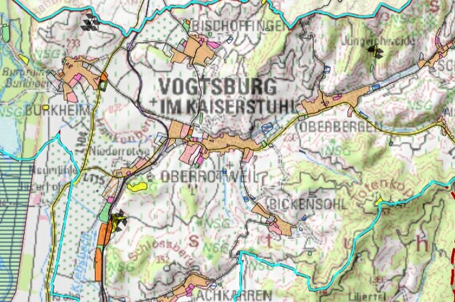Flächennutzungsplan Stadt Vogtsburg
