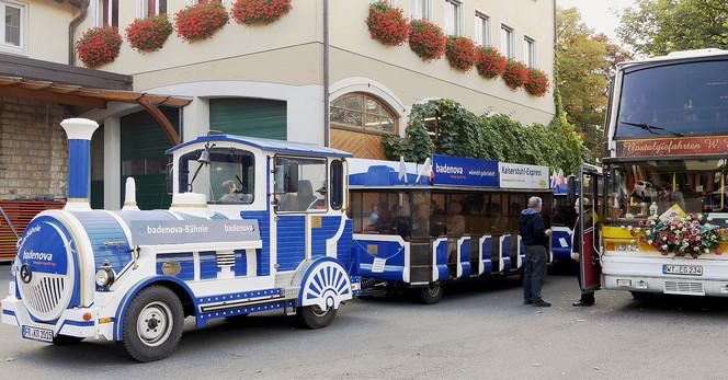 Fahrt mit dem Kaiserstuhl-Express