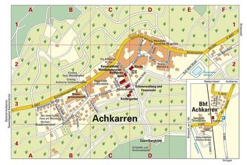 Ortsplan Achkarren