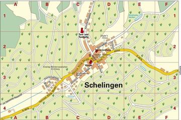 2017 Ortsplan Schelingen