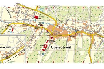 Ortsplan Oberrotweil