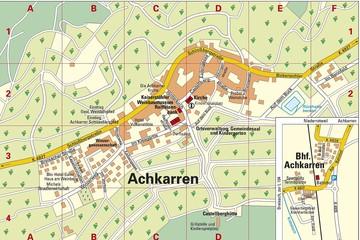 2017 Ortsplan Achkarren