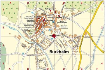 2017 Ortsplan Burkheim