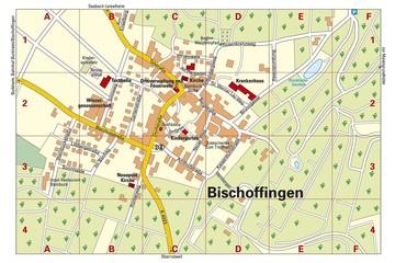 Ortsplan Bischoffingen