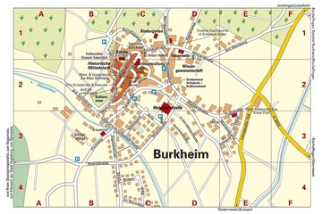 Ortsplan Burkheim