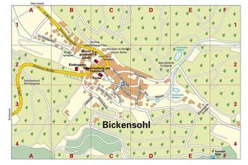 Ortsplan Bickensohl